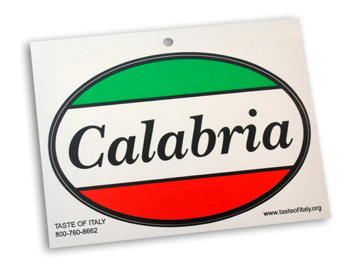 Calabria Oval Decal - Guidogear