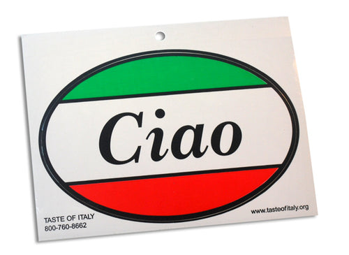 Ciao Oval Decal - Guidogear
