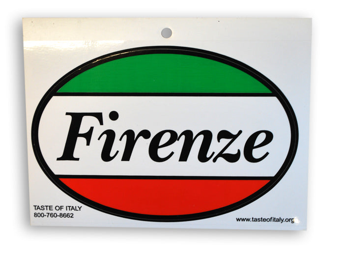 Firenze Oval Decal Sticker - Guidogear