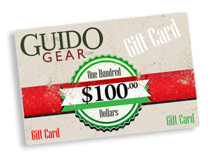 $100 Gift Card - Guidogear