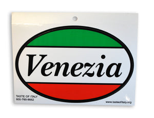 Venezia Oval Decal Sticker - Guidogear
