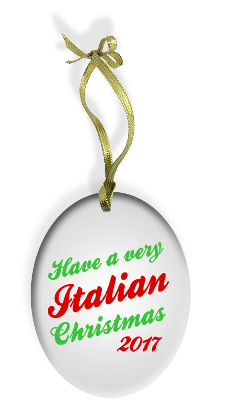 Have a Very Italian Christmas Ornament - Guidogear