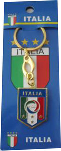 Italia 4 Star Brass Keychain - Guidogear