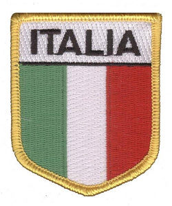 Italia Flag Patch - Guidogear