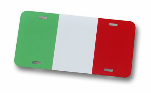 Italian Flag License Plate - Guidogear