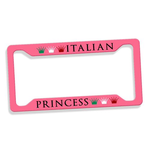 Italian / Sicilian Princess License Plate Frame - Guidogear