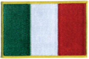 Italy Embroidered Flag Patch - Guidogear