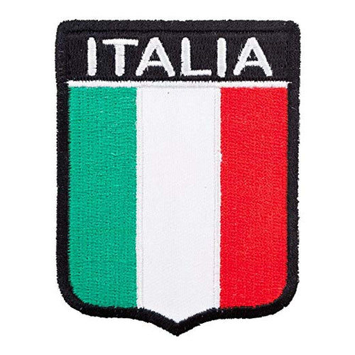 Italy Embroidered Shield Patch - Guidogear