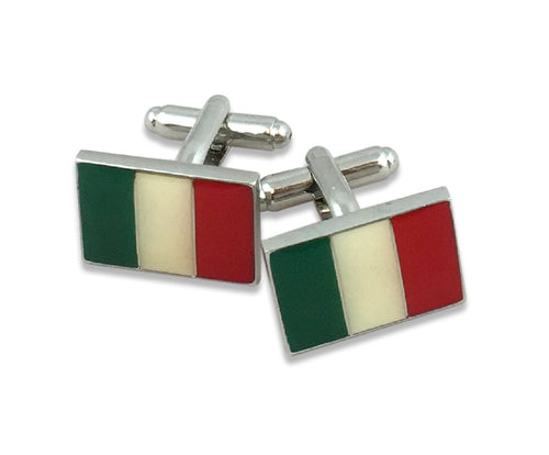 Italy Flag Cufflinks - Guidogear