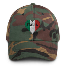Load image into Gallery viewer, Italia Heart Dad hat - Guidogear