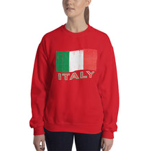 Load image into Gallery viewer, Vintage Italy Flag Unisex Sweatshirt - Guidogear