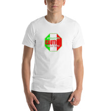 Load image into Gallery viewer, Approach With Caution - Italian Temper Short-Sleeve Unisex T-Shirt - Guidogear