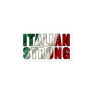 Italian Strong Bubble-free stickers - Guidogear