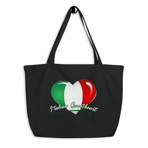 Italian Sweetheart Large organic tote bag - Guidogear
