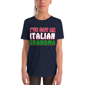 I've Got An Italian Grandma Youth Short Sleeve T-Shirt - Guidogear