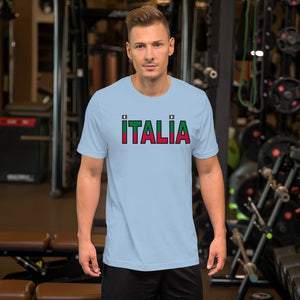 Italia Split Short-Sleeve Unisex T-Shirt - Guidogear