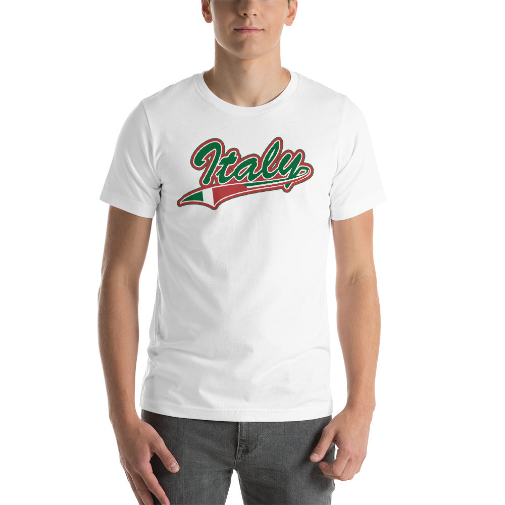 Italy Tail Short-Sleeve Unisex T-Shirt - Guidogear