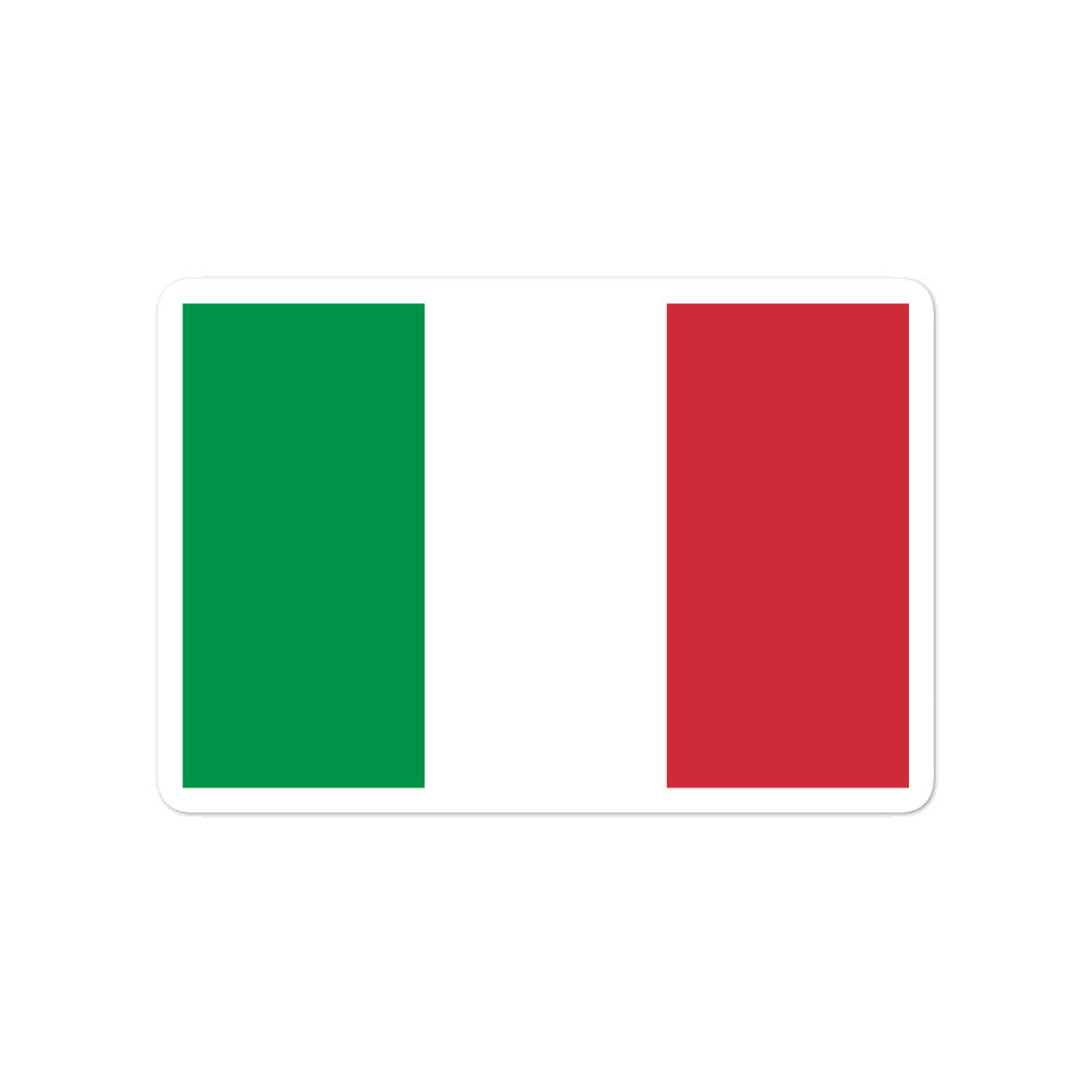 Italy Auto Decal stickers - Guidogear