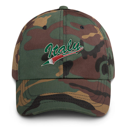 Italy Flag Tail Dad hat - Guidogear