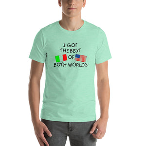 I Got The Best Of Both Worlds Short-Sleeve Unisex T-Shirt - Guidogear