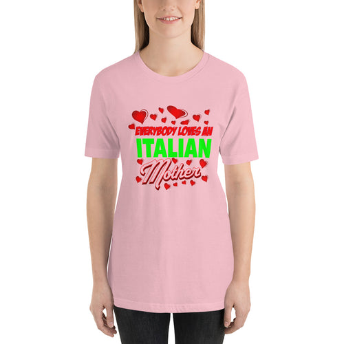Everybody Loves An Italian Mother Short-Sleeve Unisex T-Shirt - Guidogear