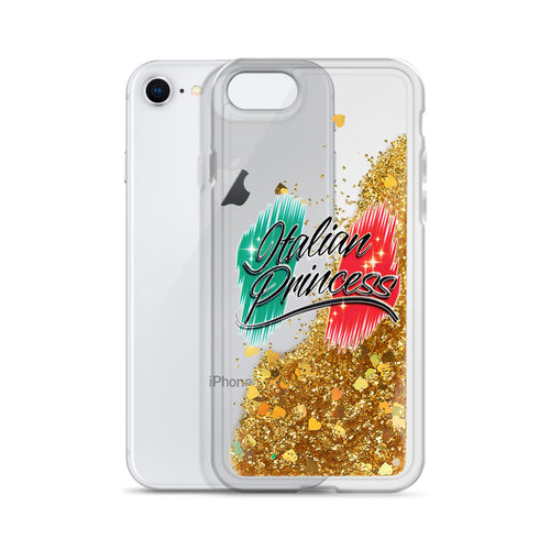 Italian Princess Liquid Glitter Phone Case - Guidogear