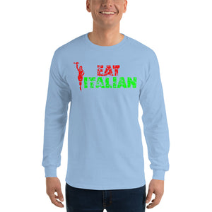 Eat Italian Unisex Long Sleeve Shirt - Guidogear