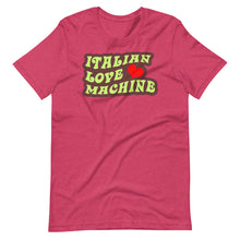 Load image into Gallery viewer, Italian Love Machine Short-Sleeve Unisex T-Shirt - Guidogear