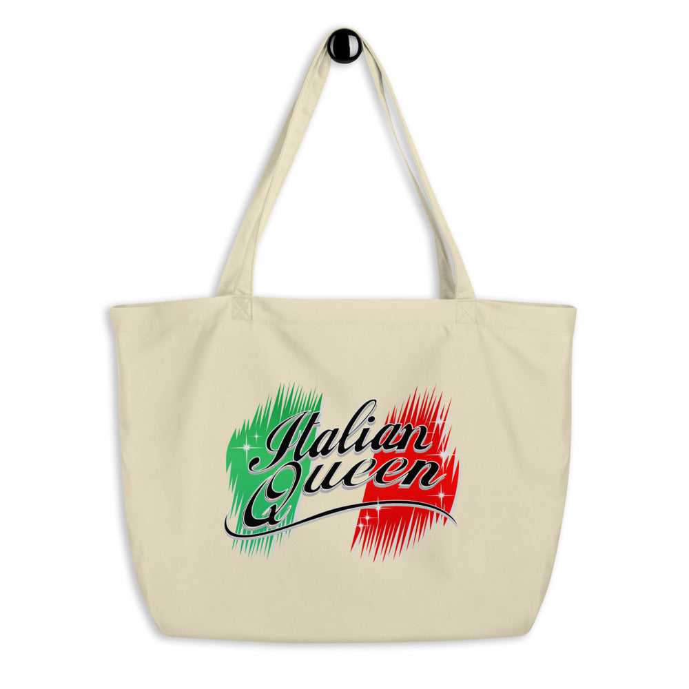 Italian Queen Large organic tote bag - Guidogear