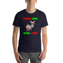Load image into Gallery viewer, Italian Christmas Donkey Short-Sleeve Unisex T-Shirt - Guidogear