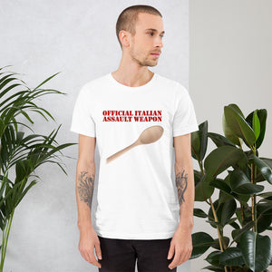 Official Italian Assault Weapon Short-Sleeve Unisex T-Shirt - Guidogear