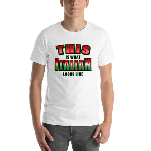 This is What Italian Looks like Short-Sleeve Unisex T-Shirt - Guidogear
