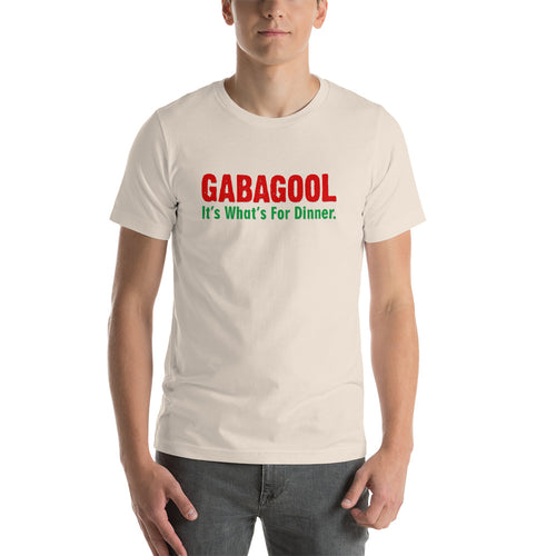 Gabagool It's What's For Dinner Short-Sleeve Unisex T-Shirt - Guidogear