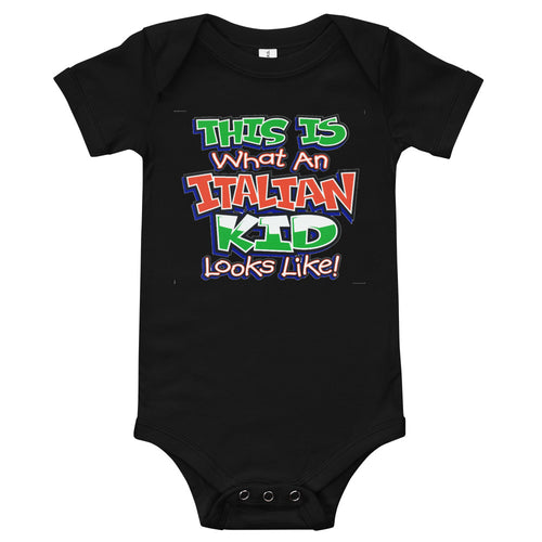This is What An Italian Kid Looks like Onesie - Guidogear