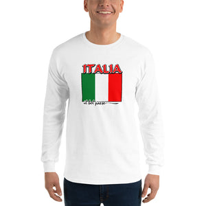 Italia il bel paese Unisex Long Sleeve Shirt - Guidogear