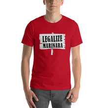 Load image into Gallery viewer, Legalize Marinara T-shirt Short-Sleeve Unisex T-Shirt - Guidogear