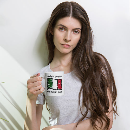Made In America With Italian Parts Mug - Guidogear