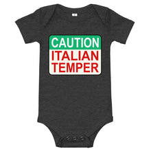 Load image into Gallery viewer, Caution Italian Temper Onesie - Guidogear