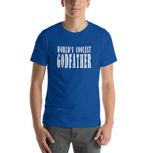 Load image into Gallery viewer, World's Coolest Godfather Short-Sleeve Unisex T-Shirt - Guidogear