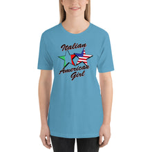 Load image into Gallery viewer, Italian American Girl Short-Sleeve Unisex T-Shirt - Guidogear