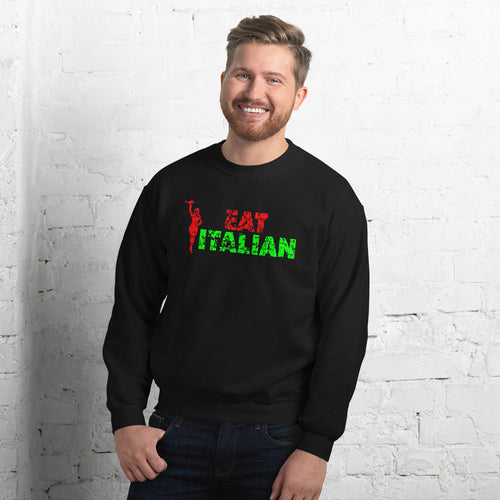 Eat Italian Unisex Sweatshirt - Guidogear