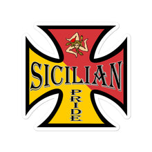 Load image into Gallery viewer, Sicilian Pride Bubble-free stickers - Guidogear