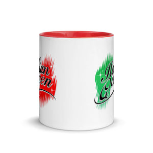 Italian Queen Mug with Color Inside - Guidogear
