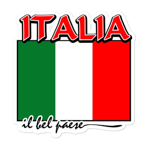 Italia il bel paese Bubble-free stickers - Guidogear