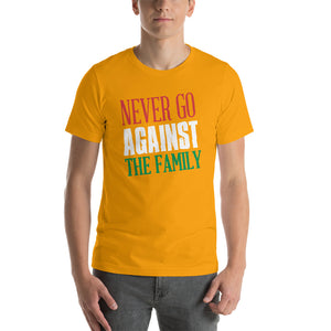 Never Go Against The Family Short-Sleeve Unisex T-Shirt - Guidogear