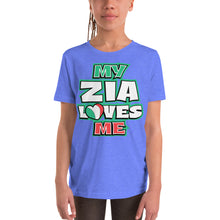 Load image into Gallery viewer, My Zia Loves Me Youth Short Sleeve T-Shirt - Guidogear