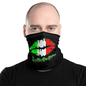 Kiss me I'm Italian Neck Gaiter - Guidogear