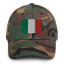 Load image into Gallery viewer, Italy Flag Embroidered Dad hat - Guidogear