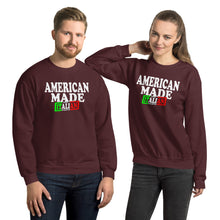 Load image into Gallery viewer, American Made With Italian Parts Unisex Sweatshirt - Guidogear