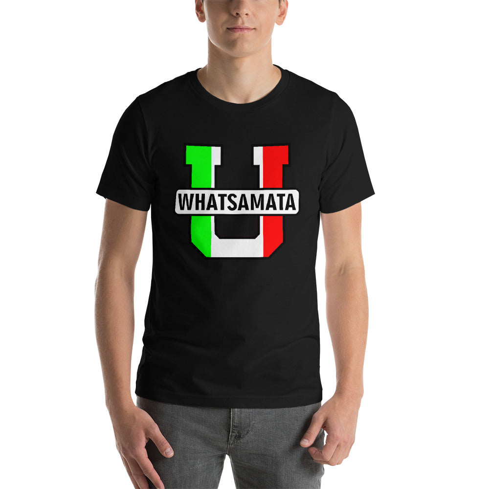 WHATSAMATA U Short-Sleeve Unisex T-Shirt - Guidogear